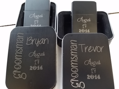 Groomsmen Lighters