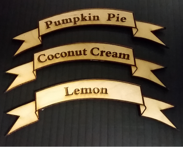 Pie signs