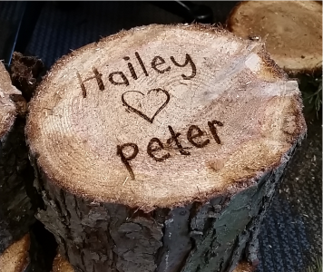 engraved Stump